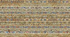 カラフルな石壁のテクスチャ